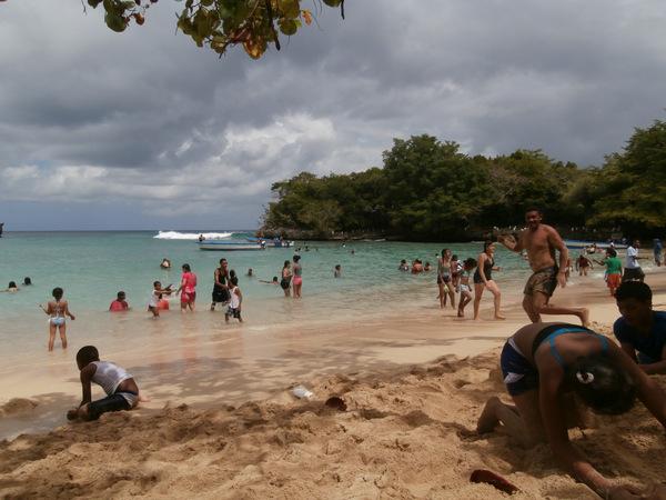 Domenica alla Playa del Caleton