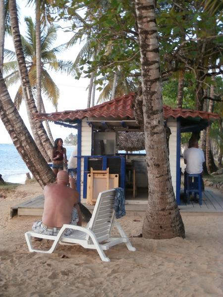 Ballando in spiaggia a Las Terrenas, Samanà