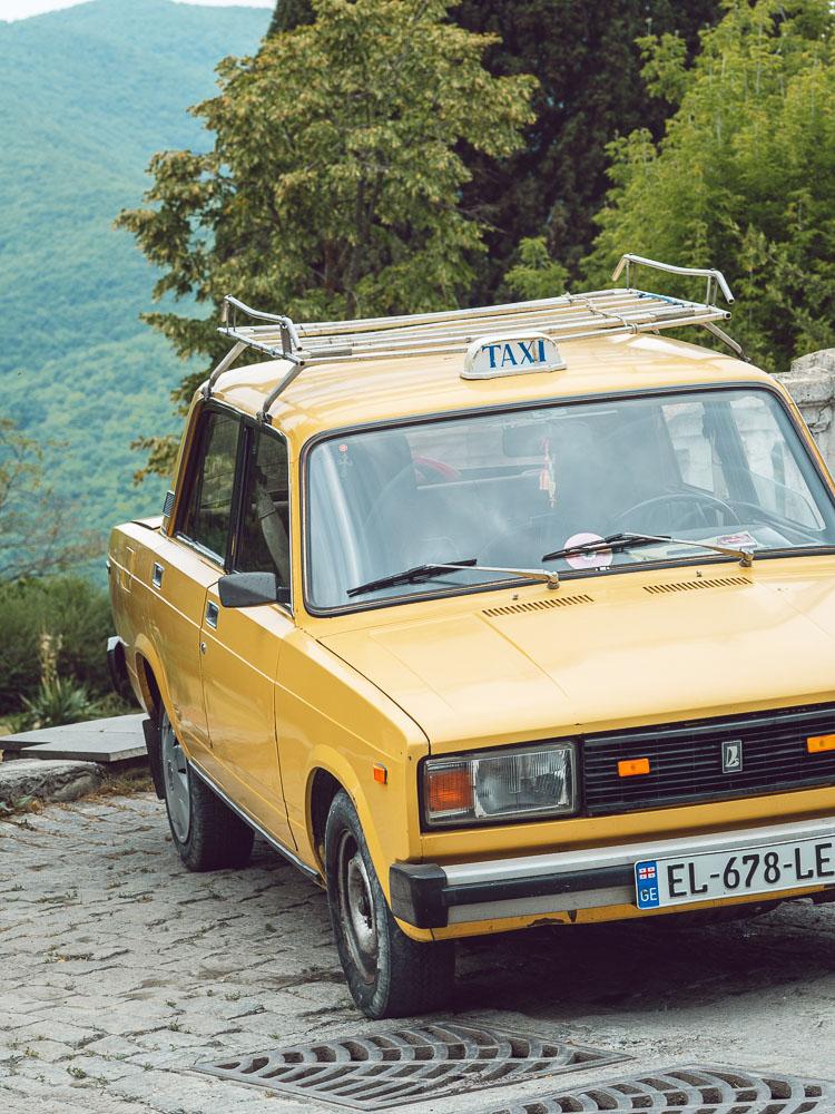 Taxi a riposo