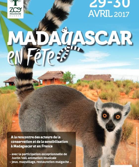 Madagascar en fête au Zoo de Mulhouse les 29 et 30 avril 2017