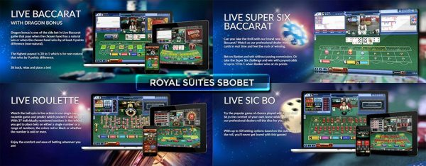 royal suite sbobet casino - Cara Daftar Sbobet Casino