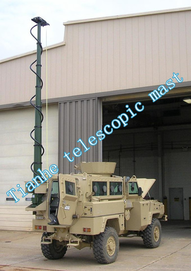 Customized Telescopic Mast With Military Level Quality Control