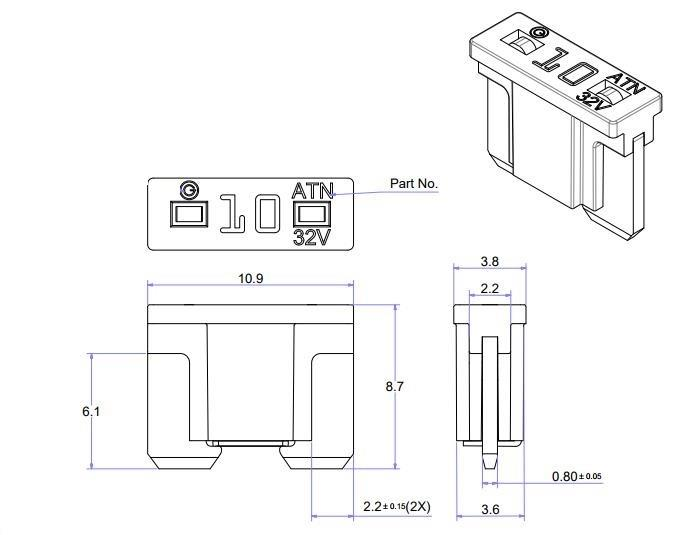 China Customized Low Profile Blade Fuse Manufacturers