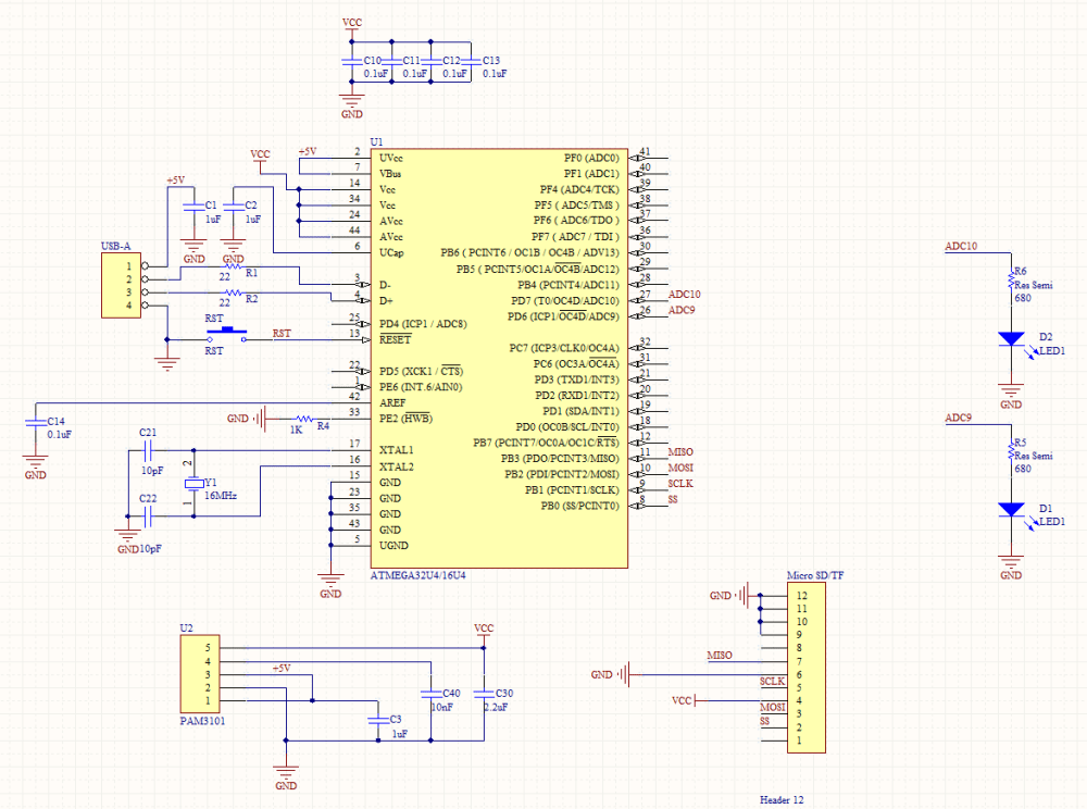 medium resolution of avr schematic png