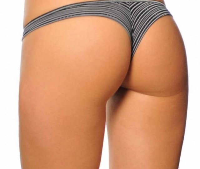 Black Brazilian Thong Panties