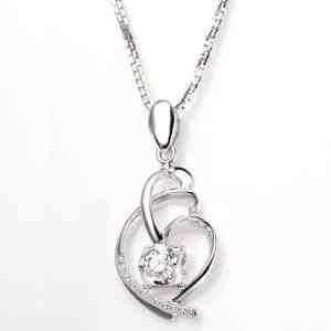 Perhiasan emas berlian white gold 18K diamond DAKADZ009