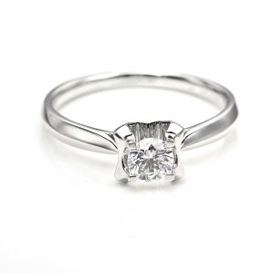 Perhiasan emas berlian white gold 18K diamond DHTXDFJ030