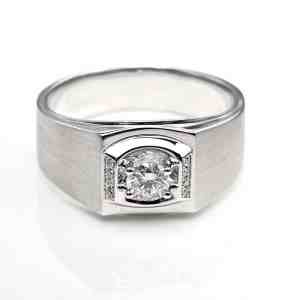 Perhiasan emas berlian white gold 18K diamond DHTXHJZ016