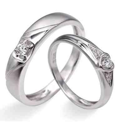 Perhiasan emas berlian white gold 18K diamond DHTXHJZ084