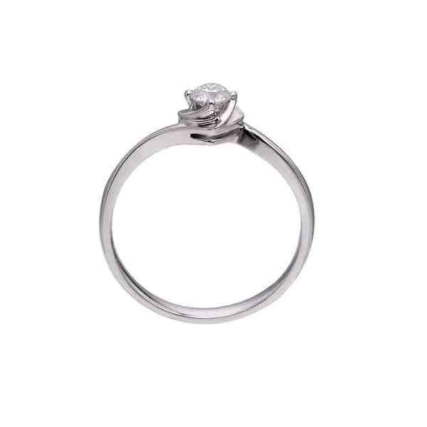 Perhiasan emas berlian white gold 18K diamond DJXJZ033