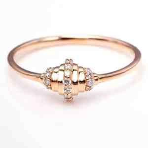 Perhiasan emas berlian white gold 18K diamond DMKMJZ007