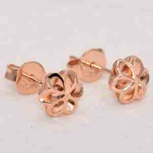 Perhiasan emas gold anting Flower Rose Gold Anting Emas 18K