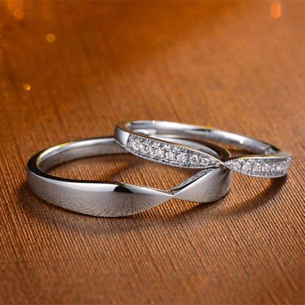 Tiaria 9K Harmonious Line Ring 3