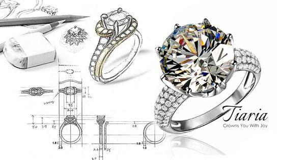 cincin tunangan, custom jewelry, seniman perhiasan internasional, konsultan perhiasan