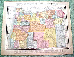 Antique Map Oregon Washington 1912 (Paper and Ephemera-Maps) at Great ...