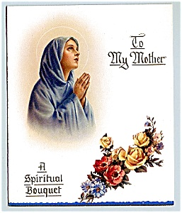 Catholic Spiritual Bouquet For Mother Mother's Day At