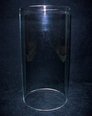 Cylinder 3 916 X 7 Tube Light Lamp Candle Holder Shade Clear Glass Shades Cylinders At