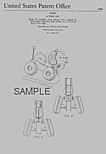 Patent Art: LITTLE SNOOPY #693 FISHER PRICE Toy-matted
