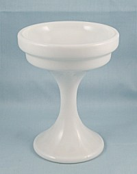 Westmoreland Glass  Candle Lamp Base/ Compote (Elegant ...