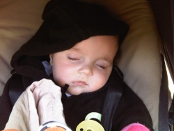catching your zzz's : jack (5 1/2 months) sleeps