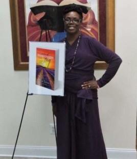 Tia Titus at her Unexplainable Joy Book Launch