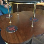 This is a very small table for 4 people - Plaquemine Lock Islington