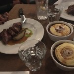 The other Lamb, and the amazing mashed potatoes!