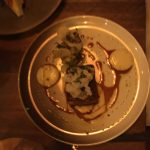 The Pork Belly was lovely and crispy