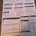Drinks Menu - Chicken Liquor Brixton Review
