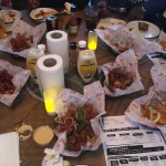 A Table full of Food - Chicken Liquor Brixton Review