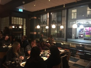 Upstairs in the restaurant - the view out of the window - Foxlow Soho Review
