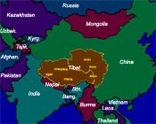 Tibet's Location