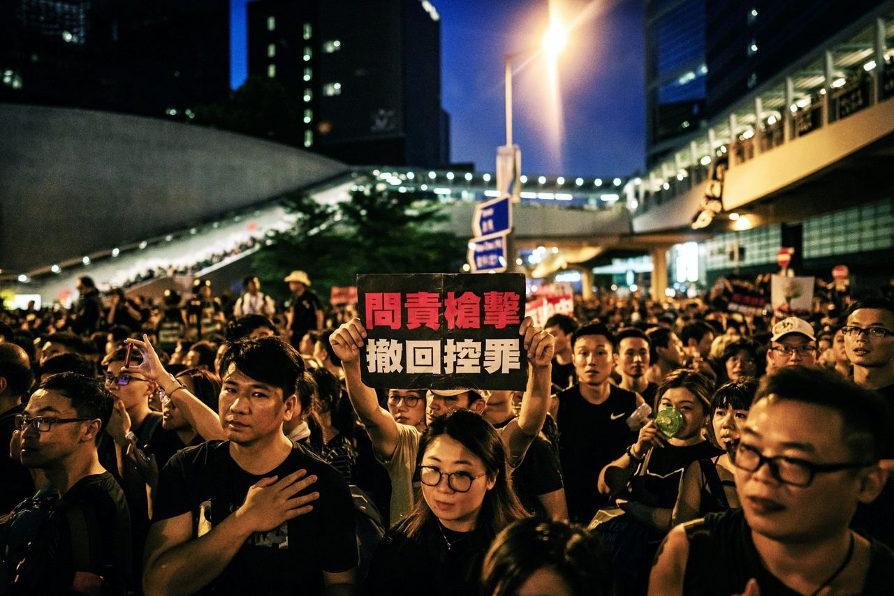 Two million protest in Hong Kong to demand withdrawal of China extradition bill   Tibetan Review