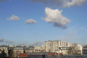 Clouds over paris