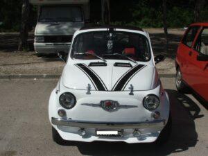 Una super Fiat 500 storica del Club Motori d'Altri Tempi
