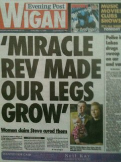 Miracle Rev made our legs grow