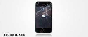 إصلاح شاشة الآي فون