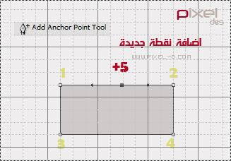 add anchor point in pen tool - درس الرسم بالبن تول أداة الباث في الفوتوشوب