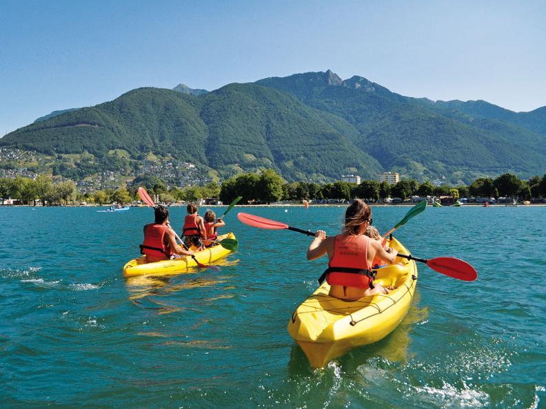 Sport acquatici sul Lago Maggiore  ticinoch