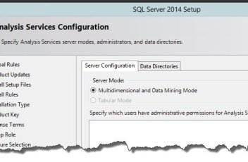 SSAS 2014 No Tabular Instance Installable