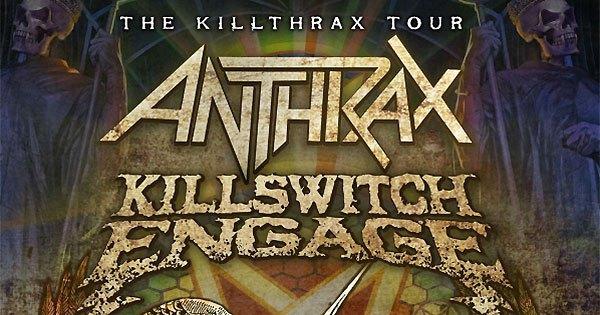 Anthrax & Killswitch Engage Announce 'KillThrax II Tour' 2018 Dates