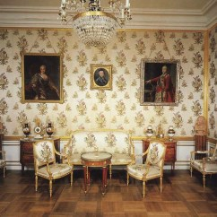 Grand Sofa Pier One Mirrored Table The Great Peterhof Palace. Empress's Study - ...