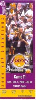 76ers at Lakers 2000