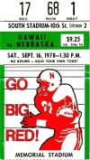 Hawaii at Nebraska 1977