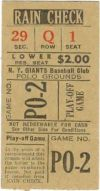 Dodgers at Giants 1951 Giants Win The Pennant