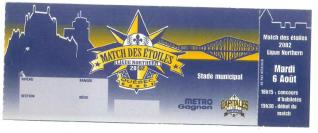 2002 Northern League All Star Game stub