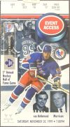 Rangers at Maple Leafs 1999