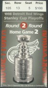 Blues at Red Wings 1998 Playoffs