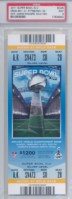 2011 Super Bowl XLV Ticket Stubs