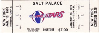 1976 ABA Nets at Stars at Salt Palace